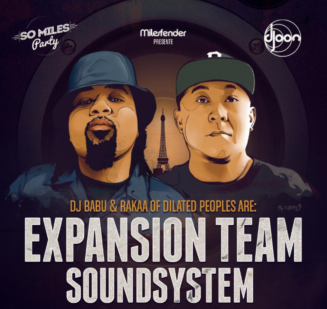 Expansion Team Soundsystem So Miles Party Paris