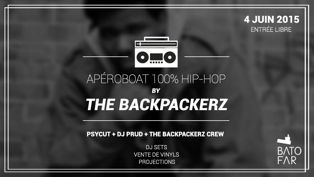 apéroboat hip hop the backpackerz batofar