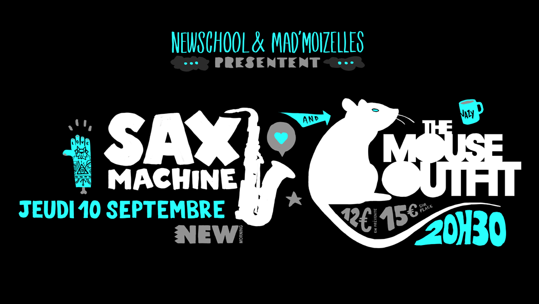 places-a-gagner-Concert-The-Mouse-Outfit-et-Sax-Machine-au-New-Morning