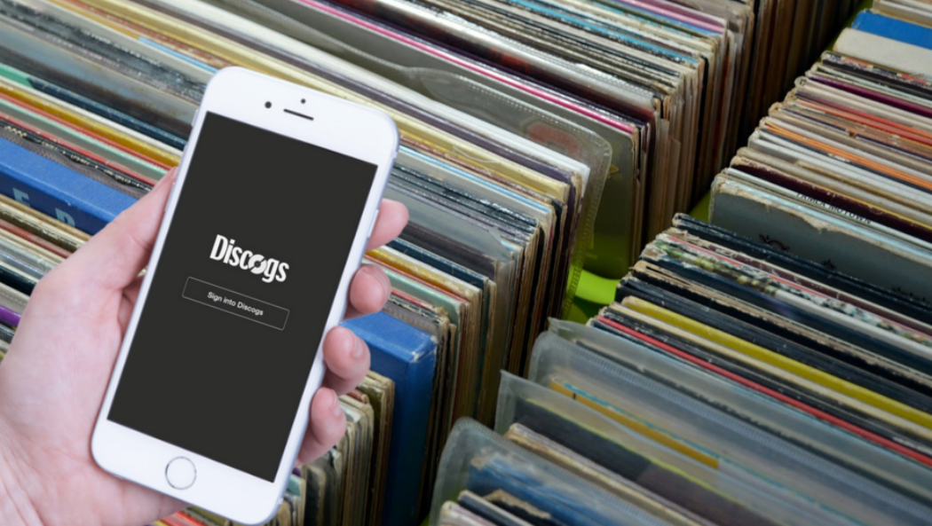 discogs app ios android