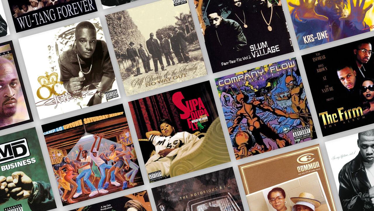 10 albums classiques du Rap US qui fêtent leurs 20 ans en 2017