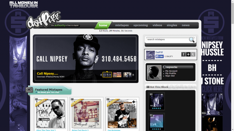 datpiff-website-mixtapes
