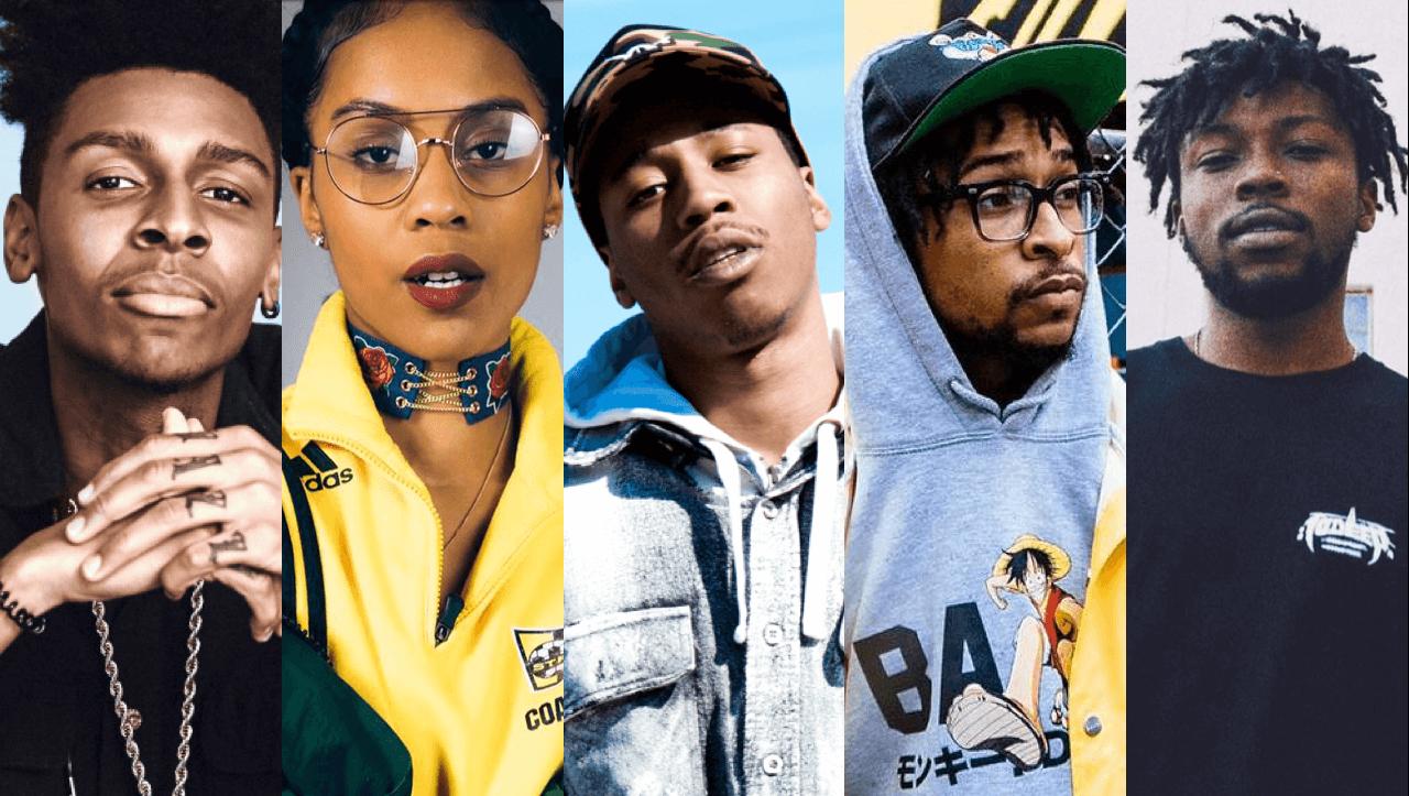 top 5 albums rap 2016