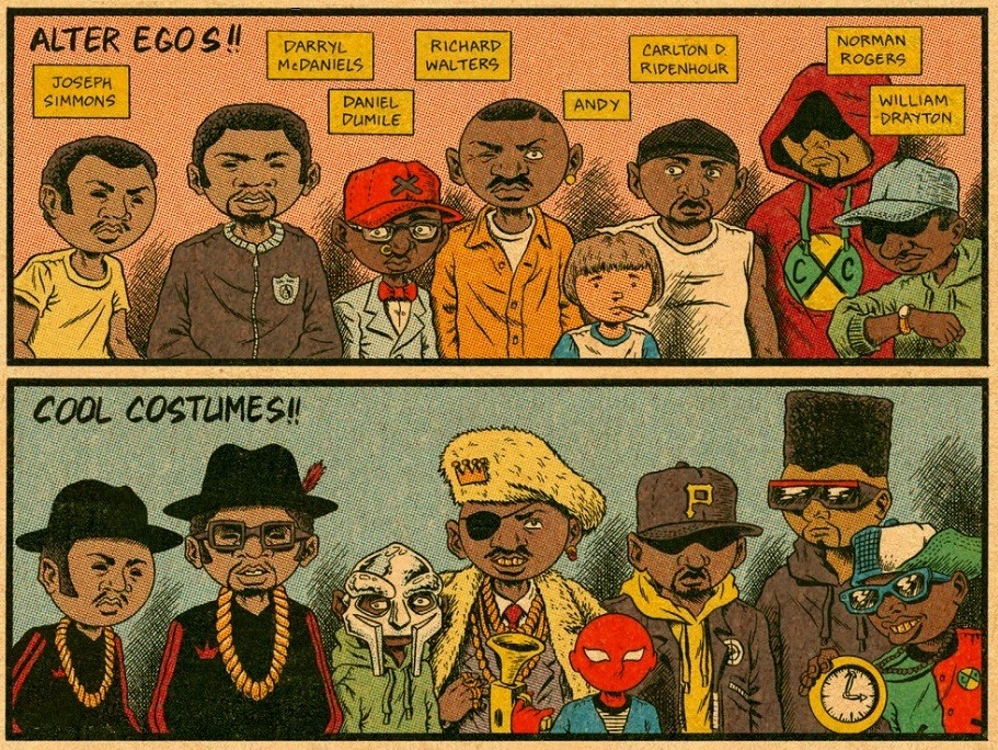 rappers alter egos